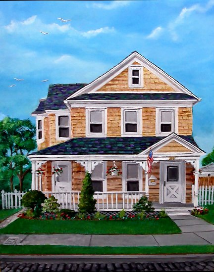 Custom Portraits Of Your Home Business Or Favorite Landscape